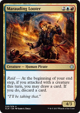 Marauding Looter - Foil