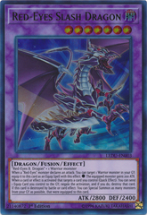 Red-Eyes Slash Dragon - LEDU-EN003 - Ultra Rare - 1st Edition on Channel Fireball