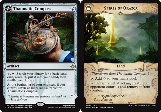 Thaumatic Compass // Spires of Orazca