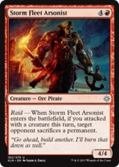 Storm Fleet Arsonist - Foil
