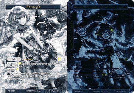 Pandora // Pandora, Guardian of the Sacred Temple (Uber Rare) - ACN-020 - UR