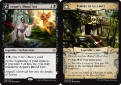 Arguel's Blood Fast // Temple of Aclazotz - Foil on Channel Fireball