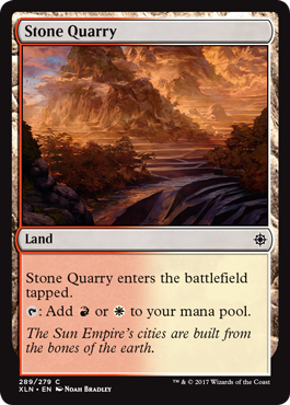 Stone Quarry (Ixalan) - Planeswalker Deck Exclusive