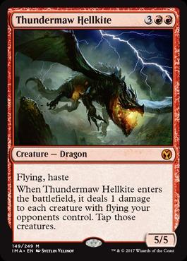 Thundermaw Hellkite - Foil