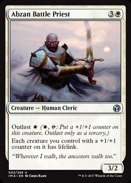 Abzan Battle Priest - Foil
