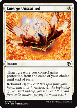 Emerge Unscathed - Foil