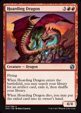 Hoarding Dragon - Foil