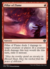 Pillar of Flame - Foil on Channel Fireball