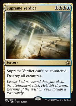 Supreme Verdict - Foil