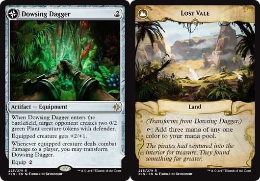 Dowsing Dagger // Lost Vale - Foil