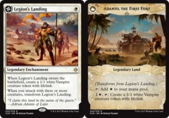 Legion's Landing // Adanto, the First Fort - Foil