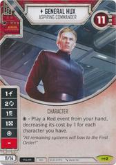 General Hux - Aspiring Commander