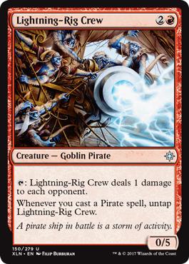 Lightning-Rig Crew - Foil
