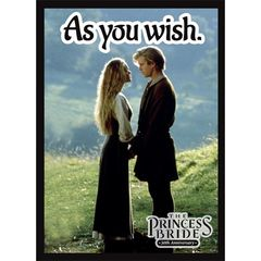 Legion Matte Sleeves: The Princess Bride - As You Wish