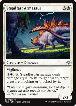 Steadfast Armasaur