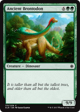 Ancient Brontodon - Foil