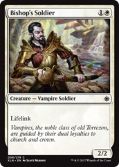 Bishop's Soldier - Foil on Channel Fireball
