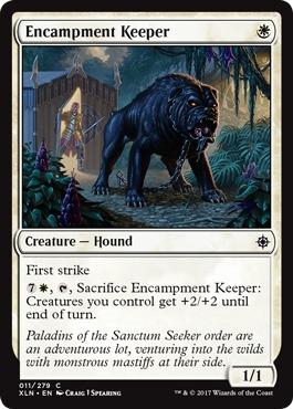 Encampment Keeper - Foil