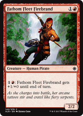 Fathom Fleet Firebrand - Foil