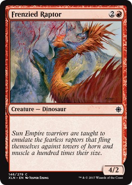 Frenzied Raptor - Foil