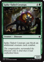 Spike-Tailed Ceratops - Foil