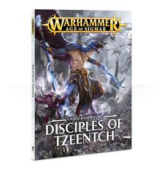Battletome Chaos: Disciples of Tzeentch (softback) ( 83-45-60 )
