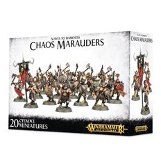 Slaves to Darkness Chaos Marauders ( w-83-12 )