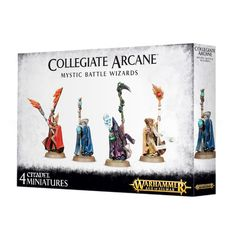 Free Peoples Collegiate Arcane Mystic Battle Wizards ( 86-26-w )