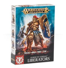Stormcast Eternals Easy To Build: Liberators ( 71-01-N )