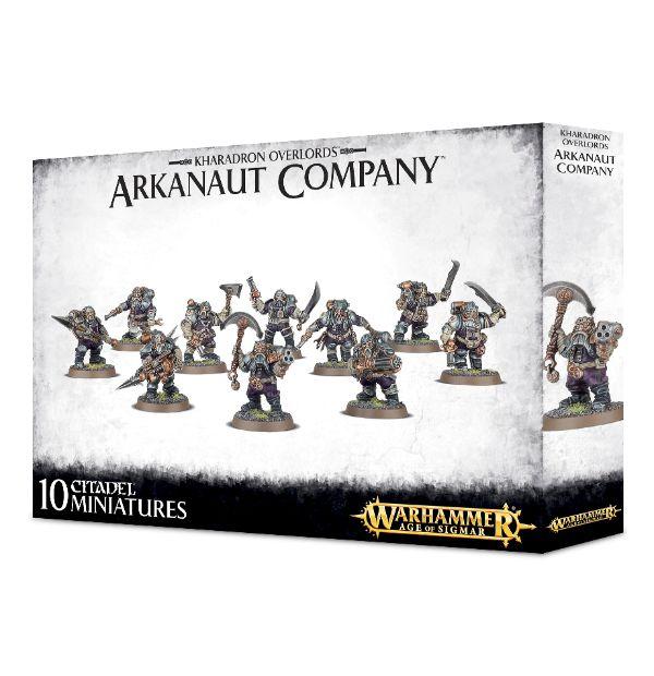 Warhammer AoS Kharadron Overlords Arkanaut Company