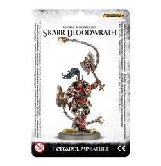 Khorne Bloodbound Skarr Bloodwrath ( 83-22-w )