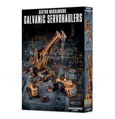 Sector Mechanicus Galvanic Servohaulers