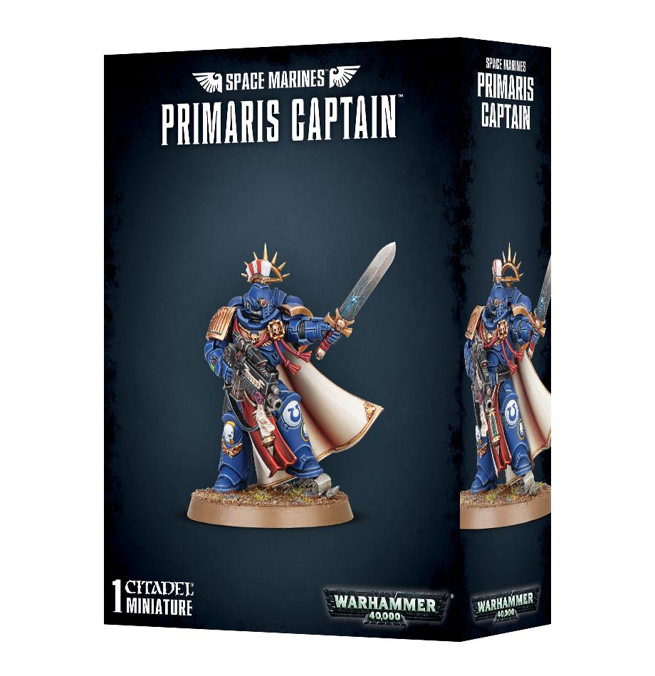 Space Marines Primaris Captain