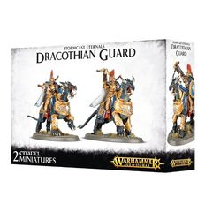 Stormcast Eternals Dracothian Guard Fulminators / Tempestors / Concussors / Desolators / Lord-Celestant on Dracoth ( 96-24 )