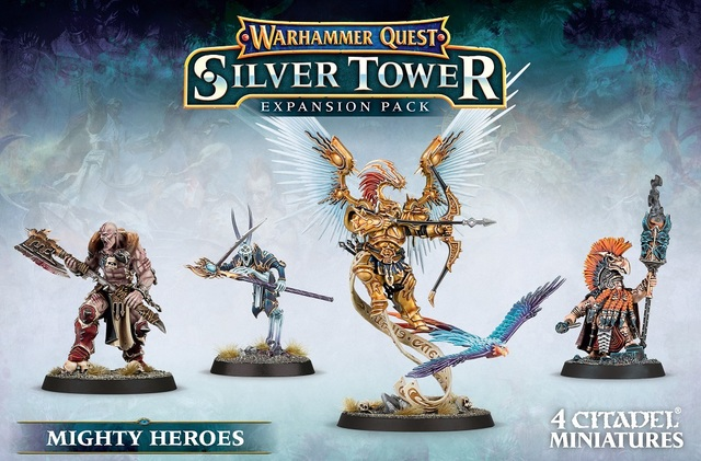 Whq: Silver Tower: Mighty Heroes