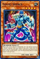 Gouki Suprex - COTD-EN010 - Rare - Unlimited Edition