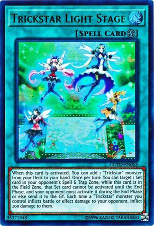 Trickstar Light Stage - COTD-EN053 - Ultra Rare - Unlimited Edition