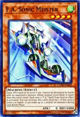 F.A. Sonic Meister - COTD-EN086 - Common - Unlimited Edition
