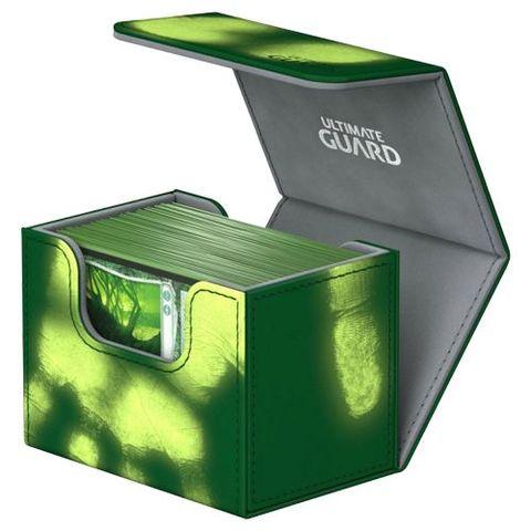 Ultimate Guard - Deck Case 100+ Sidewinder Chromiaskin - Green