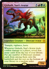Gishath, Sun's Avatar (XLN Prerelease Foil)