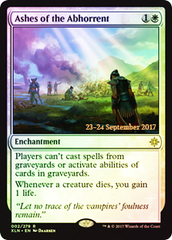 Ashes of the Abhorrent - Foil - Prerelease Promo