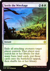 Settle the Wreckage - Foil - Prerelease Promo