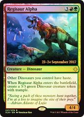 Regisaur Alpha - Foil - Prerelease Promo