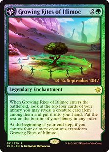 Growing Rites of Itlimoc // Itlimoc, Cradle of the Sun  - Foil - Prerelease Promo