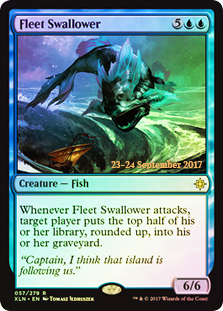 Fleet Swallower - Foil - Prerelease Promo