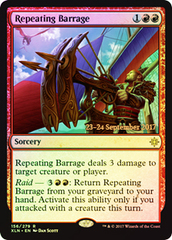 Repeating Barrage - Foil - Prerelease Promo