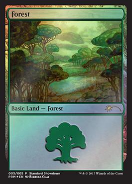 Forest - Foil - Standard Showdown