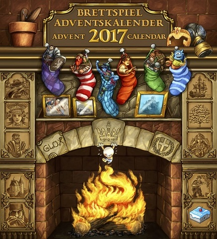 Brettspiel Advent Calendar 2017