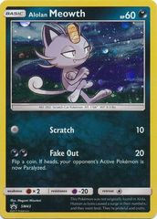 Alolan Meowth - SM43 - Holo Promo - SM Black Star Promo on Channel Fireball