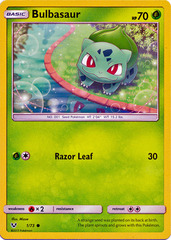 Bulbasaur - 1/73 - Common on Channel Fireball